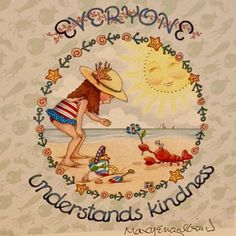 💗💗💗Mary Engelbreight's (M. Kindness Matters, Mary Engelbreit, Travel Design, Whimsical Art, Conte, Funny Design, Wells, Doodles, Thoughts