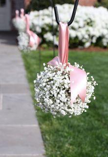 Stílus Esküvőszervezés: Esküvői dekoráció - A fátyolvirág