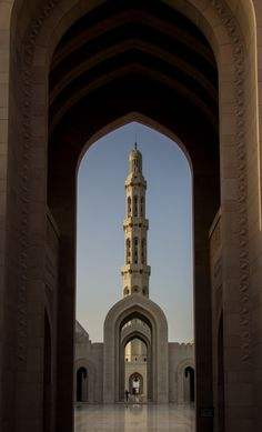 Sultan Qaboos Grand Mosque - Oman (by Andrew Moore)