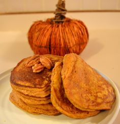 Pumpkin Spice Pancakes created by Food by Katie | fastPaleo Primal and Paleo Diet Recipes