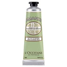 L'Occitane Almond Hand Cream made with Almond milk & Almond oil, this silky-smooth cream helps to nourish & soften the hands while enveloping them with the mouthwatering scent of fresh Almonds. Cracked Hands, Cracked Skin, Hand Care, Hand Lotion, Dry Hands, Soft Hands, Body Lotions, Luxury Beauty, Beauty Care