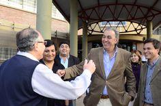 Rodolfo Urtubey visitó la Universidad Nacional de Salta, donde hizo contacto con alumnos, Rector, Decanos, Secretarios  y Directores