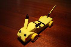 Pikachu (Pokémon) - Pinewood Derby Car | Pikachu (Pokémon) P… | Flickr