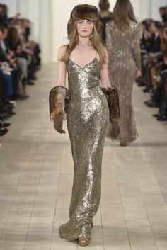Ralph Lauren RTW Fall 2015 [Photo by Giovanni Giannoni]