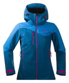 Bergans of Norway Deep Sea   Light Sea Stryn Softshell Jacket - Women cc7716fc04