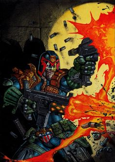 Judge Dredd | Simon Bisley