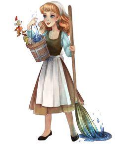 Cinderella meets Galaxy by Pastel-le on DeviantArt