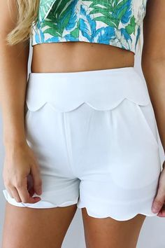 Because Of You Shorts: White St Simons Island, Whats New, White Shorts, Gym Shorts Womens, Short Dresses, Boutique, My Style, Clothes, Shoes