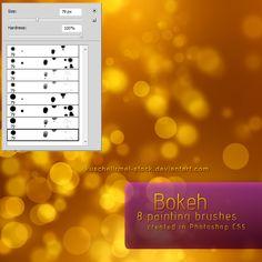 Bokeh Brushes by kuschelirmel-stock.deviantart.com on @DeviantArt