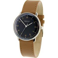Junghans Max Bill Automatic Watch | Brown Calfskin 027/3401.00