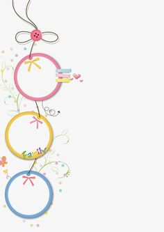 Kids Background, Flower Background Wallpaper, Background Design Vector, Cute Wallpaper Backgrounds, Cute Wallpapers, Cv Photoshop, Photoshop Design, Borders For Paper, Borders And Frames
