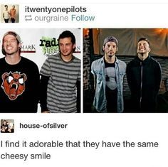 I LOVE THEIR CHEESY SMILES