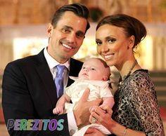 Bill & Giuliana take Baby Duke to get baptized in Chicago #StyleNetwork #GandB.  Love them!
