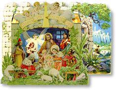 Bohemian Nativity Collection Combo - PaperModelKiosk.com