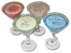 Martini Candles $15.00 each
