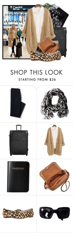 """Wayfaring"" by tasha1973 ❤ liked on Polyvore featuring INC International Concepts, Lands' End, Calvin Klein, Tumi, Chicnova Fashion, Vera Bradley, FOSSIL, UGG Australia and Chanel"