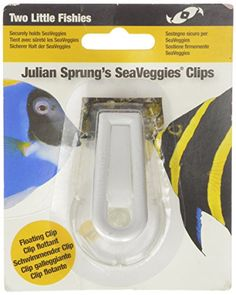 Two Little Fishies ATLSVCS Sea Veggie Clip Carded - http://www.petsupplyliquidators.com/two-little-fishies-atlsvcs-sea-veggie-clip-carded/