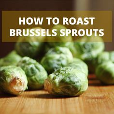 Easy roasted brussel