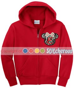 Minnie Mouse Youth Zip Up Hoodie Jacket
