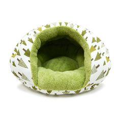 Burger Bed Small Dog Snuggle Bed - Tree