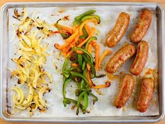 Get Sausage and Peppers Sheet Pan Dinner Recipe from Food Network