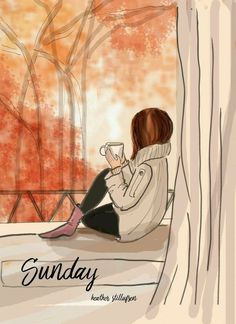 Rose Hill Designs by Heather Stillufsen Hello Weekend, Fashion Sketches, Fashion Illustrations, Belle Photo, Art Girl, Good Morning, Sunday Morning Coffee, Art Drawings, Drawing Quotes