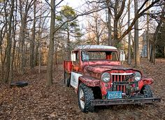 Old Red Jeep