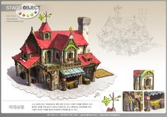 GGSCHOOL, Artist 김선주, Student Portfolio for game, 2D Scene Concept Art, www.ggschool.co.kr
