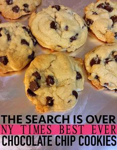 NYT Best Chocolate Chip Cookie Recipe! – Simply Taralynn