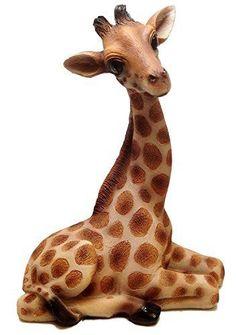 Collectible Figurines Tall Safari Giraffe Wild Life High Hopes Figurine for sale online Wall Mounted Storage Shelves, Shelf, Giraffe Figurine, Modern Floating Shelves, Statues For Sale, Young Animal, Boho Living Room, Jungle Animals, Wild Animals