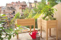 Un potager surélevé pour le balcon ou la terrasse - Des jardinières pas banales pour mon balcon ou ma terrasse - CôtéMaison.fr