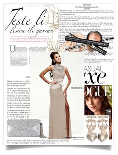 """""""DRESSGOWNSTORES 39"""" by fashio-my ❤ liked on Polyvore featuring Sherri Hill, BCBGMAXAZRIA, Valentino, women's clothing, women, female, woman, misses, juniors and DRESSGOWNSTORES"""