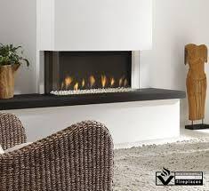 Image result for gas fire insert frameless