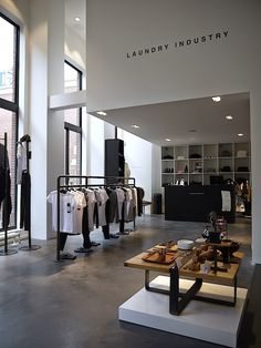 Laundry Industry Flagship store Amsterdam