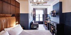 Este hotel de la capital de Holanda, en el que se respira un ambiente vintage, elegante y urbano, combina a la perfección el aire señorial de su localización con su razón de ser: convertirse en el hotel más hip de la ciudad.