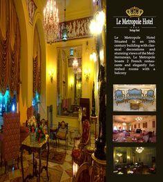 Enjoy your stay at Le Metropole Hotel تمتع بإقامتك في فندق متروبول