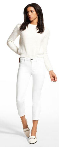 b3c8eeb2612 2279- Bardot High Rise Cropped in Lenox Bardot Jeans