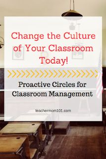 How Proactive Circles Changed the Culture of my Classroom - Teacher Mom 101
