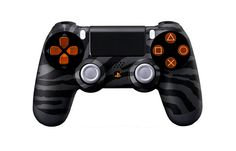 PS4Controller-BlackZebra   Flickr - Photo Sharing! #moddedcontrollers #customcontrollers #ps4controllers #playstation4 #dualshock4 #PS4 #customps4controllers #moddedps4controllers