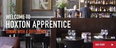 #hoxtonapprentice A great venue that gets GF. It's a social enterprise which sells affordable food & helps people gain skills in hospitality. We've had naturally GF food like steak & chips prepared with care. They have a small terrace which is great in the summer. A nice venue off of Hoxton Square where you can grab drinks afterwards in the many bars. #coeliac