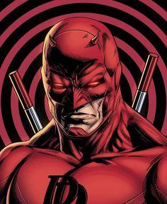 Marvel Comics Superheroes, Bd Comics, Marvel Comic Books, Comic Book Characters, Marvel Art, Marvel Heroes, Marvel Characters, Daredevil Artwork, Daredevil Elektra