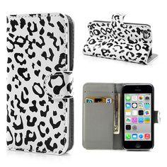 Leopard wallet case for #iphone5c