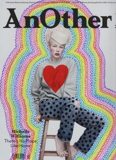 Ana Strumpf - Paint over magazine's cover