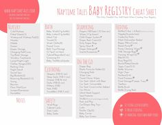 Absolute Essentials for a newborn -- Ultimate baby registry list ...