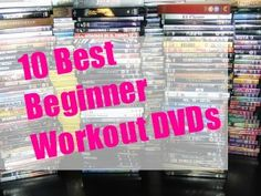 The 10 best workout DVDs for beginners! | via @Fit Bottomed Girls #fitness #exercise
