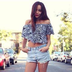Image via We Heart It #fashion #outfit #style #summer #ashleymadekwe