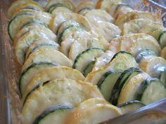 SUNDAY BAKER: Parmesan Squash Bake