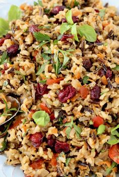 Cranberry Wild Rice Pilaf In search of a new health side dish to try? This Cranberry Wild Rice Pilaf won't disappoint. Cranberry Wild Rice Pilaf In search of a new health side dish to try? This Cranberry Wild Rice Pilaf won't disappoint. Rice Recipes Vegan, Wild Rice Recipes, Whole Food Recipes, Vegetarian Recipes, Healthy Recipes, Vegan Dishes, Veggie Recipes, Health Side Dishes, Rice Side Dishes