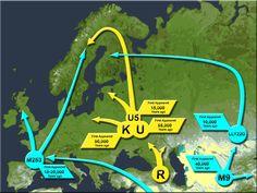 mtDNA Haplogroups U & K