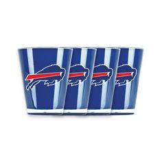 4 piece shot glass set - Buffalo Bills